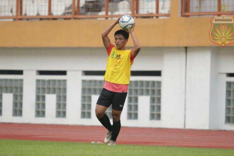 Pemain muda Bhayangkara FC tak ingin regulasi U-20 sebagai aji mumpung