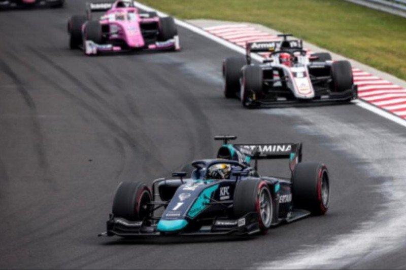 Sean Gelael nir poin di Sirkuit Hungaroring