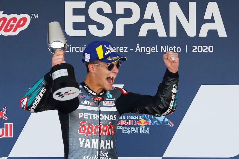 Komentar Quartararo merasakan juara pertama kali di MotoGP