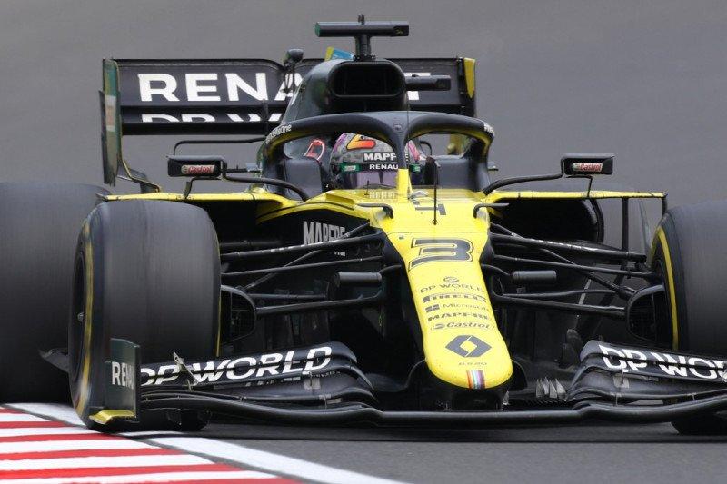 Renault buat sasis baru untuk Daniel Ricciardo jelang kualifikasi GP Britania