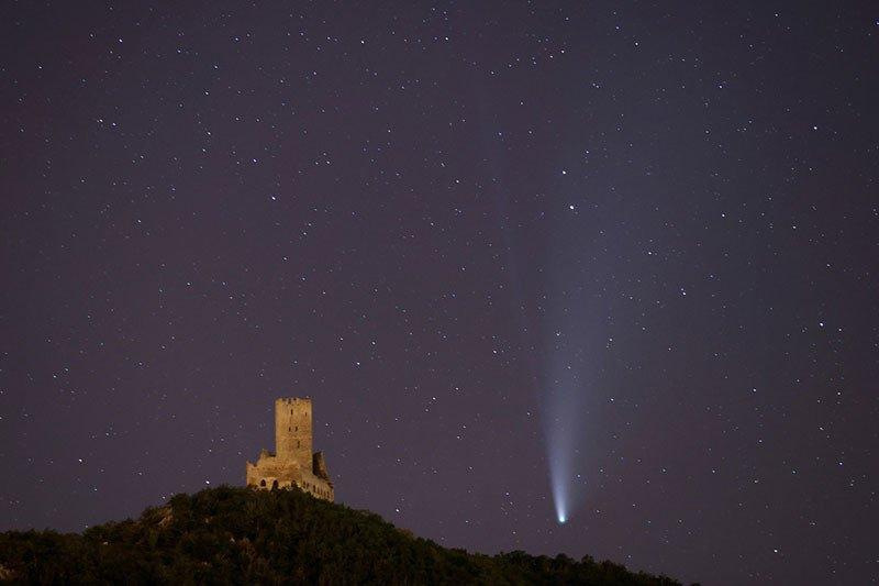 Komet Neowise melintas terdekat ke Bumi pada 23 Juli