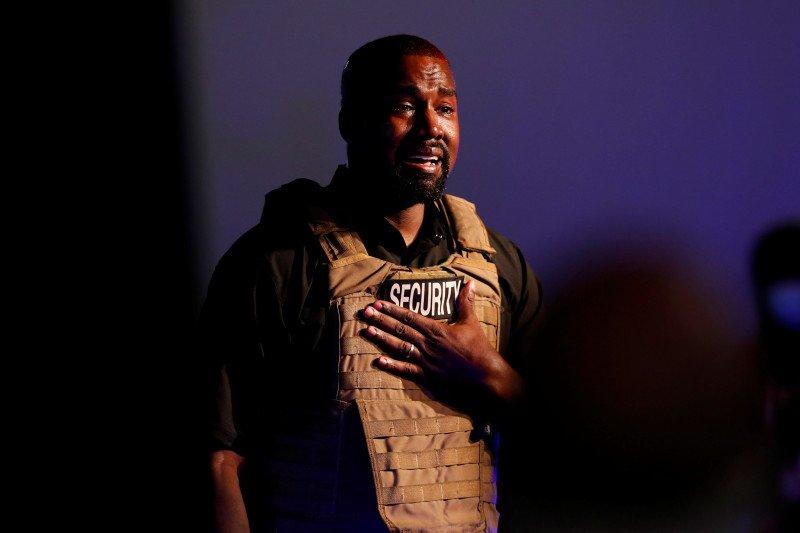 Kanye West sabet nominasi musik gospel pertama