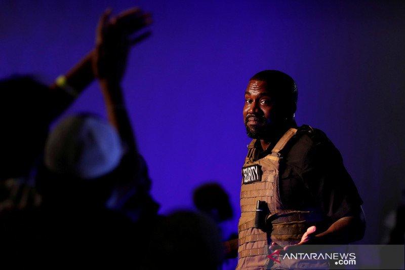 Kanye West mengaku ingin jadi pemimpin dunia