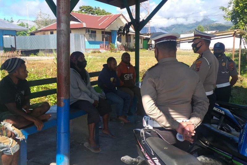 Polres Yalimo imbau tukang ojek tertib lalu lintas