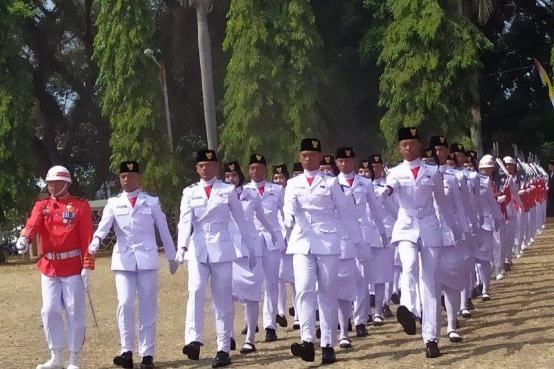 Upacara peringatan hari kemerdekaan di Lampung akan digelar secara terbatas