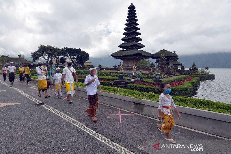 Bupati Tabanan buka kembali Tanah Lot-Pura Ulundanu, tutup sejak 22 Maret
