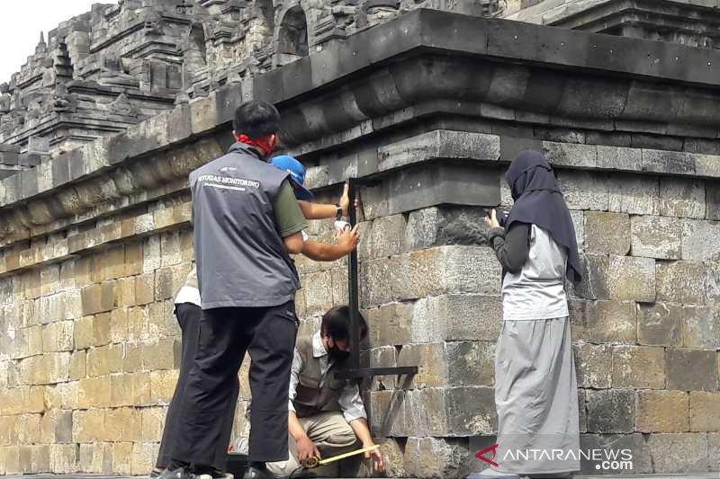 BKB secara rutin lakukan pengukuran stabilitas bangunan Candi Borobudur