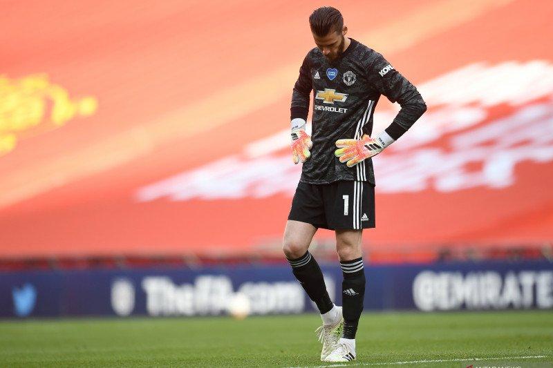 Jelang lawan West Ham, Solskjaer pastikan De Gea tak tertekan