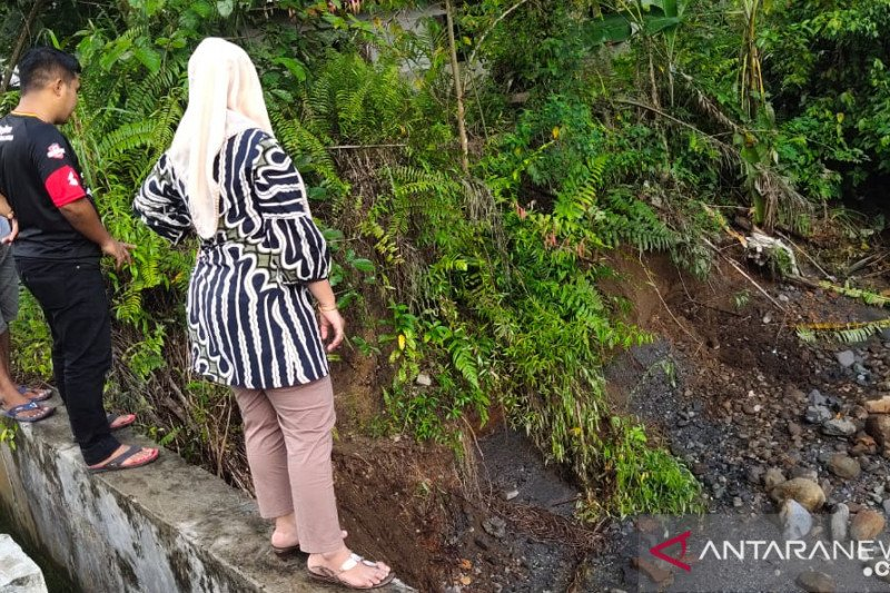 Sejumlah sarana prasarana pertanian di Gunung Tuleh, Pasaman Barat rusak akibat banjir
