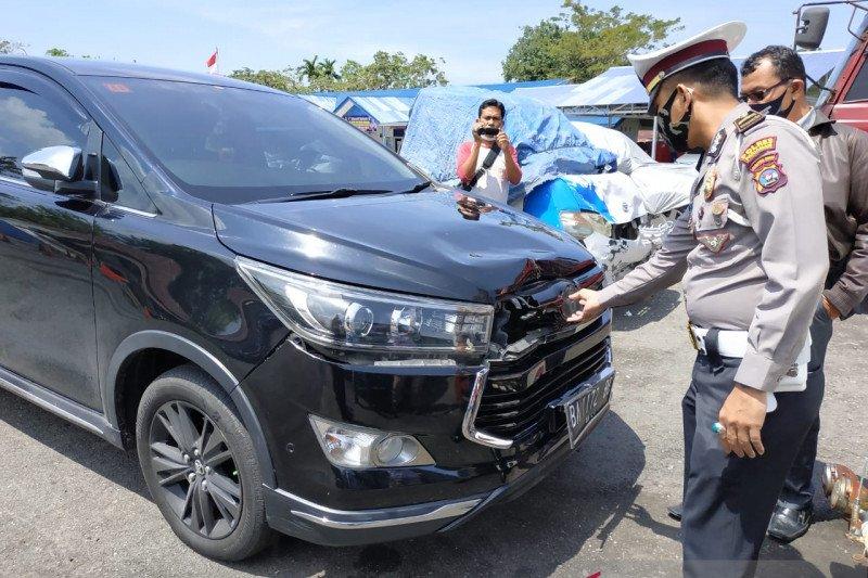 Diduga jadi pelaku tabrak lari, polisi tahan sopir istri Bupati Padang Pariaman