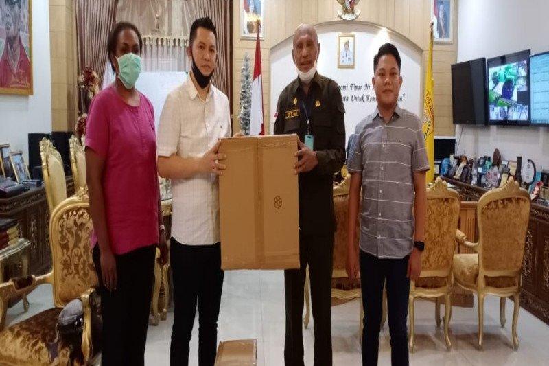 Hipmi Papua serahkan bantuan  ventilator ke Wali Kota  Jayapura