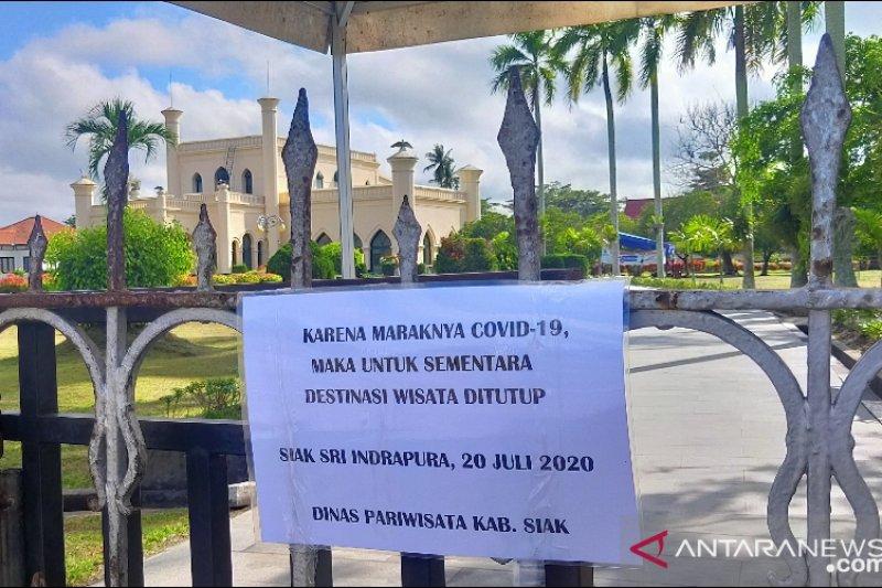 Istana Siak kembali ditutup pasca melonjaknya COVID-19