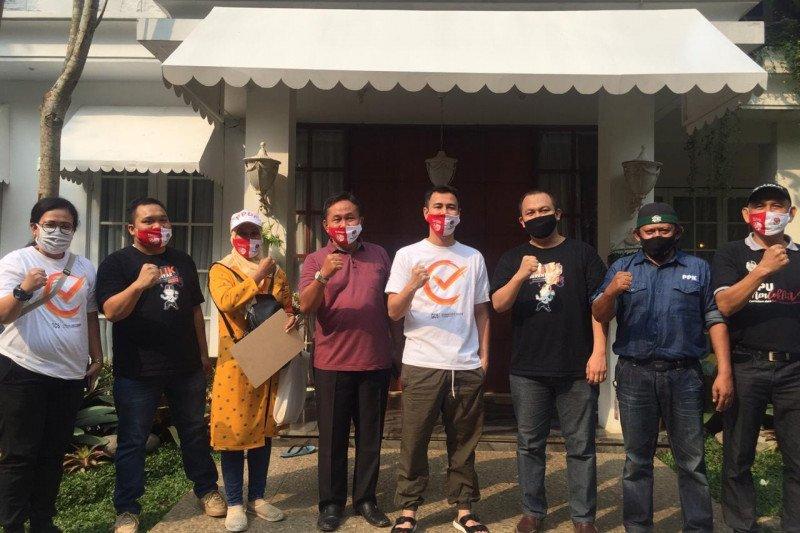 KPU Kota Depok lakukan coklit ke rumah publik figur