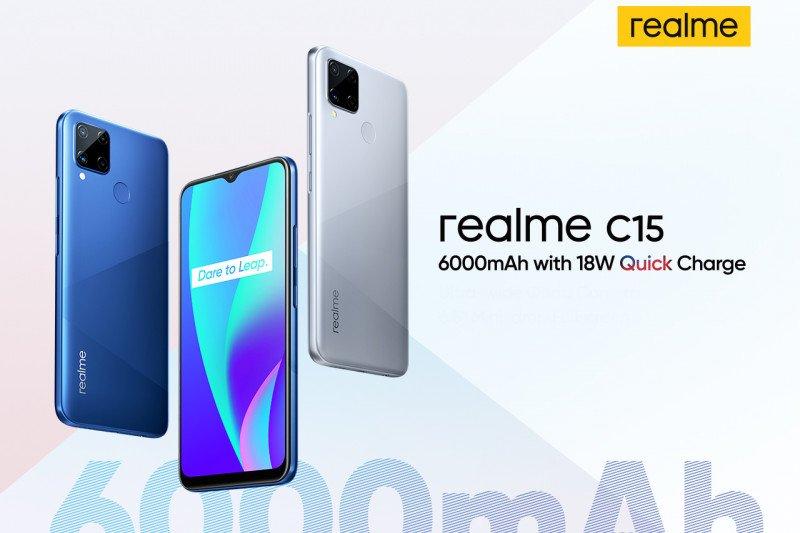 "Realme akan sematkan baterai raksasa untuk ponsel ""entry level"""