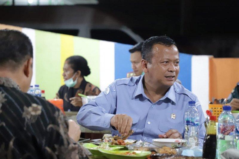 Edhy Prabowo ternyata dari dulu suka makan pecel lele