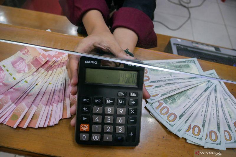 Nilai tukar rupiah ditutup melemah di tengah variasi mata uang regional