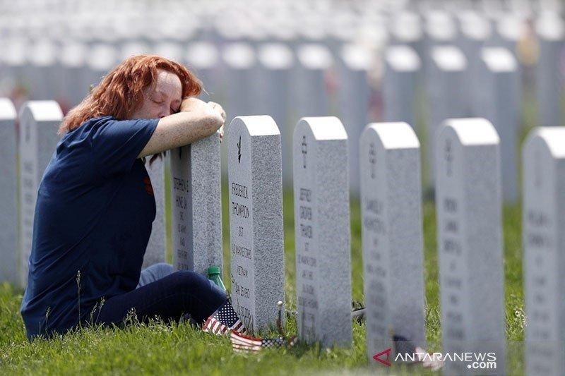 Amerika catat lebih dari 1.000 kematian COVID-19  tiga hari berturut-turut