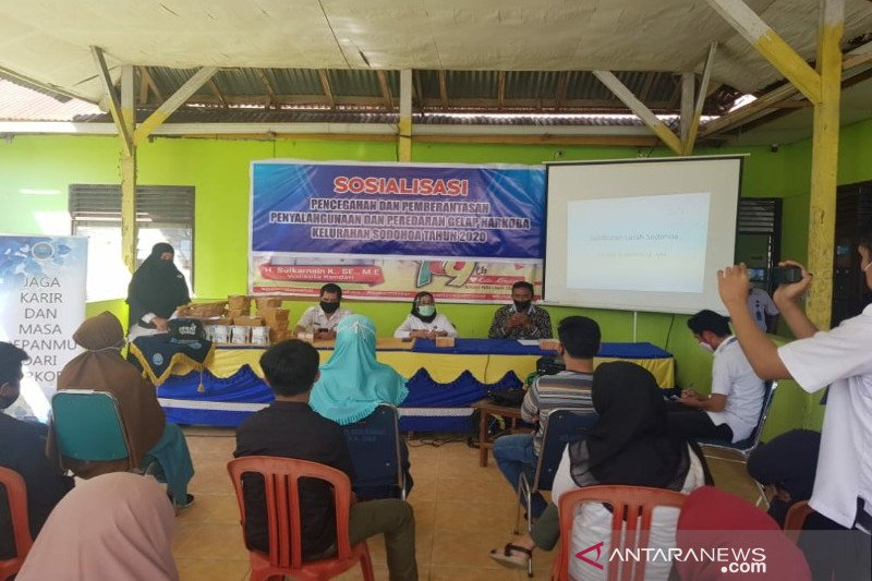 BNN ajak warga Sodohoa bersinergi ciptakan lingkungan bebas narkoba