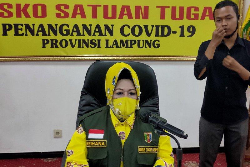 Dinkes Lampung: Empat dari sembilan pasien positif COVID-19 punya riwayat perjalanan