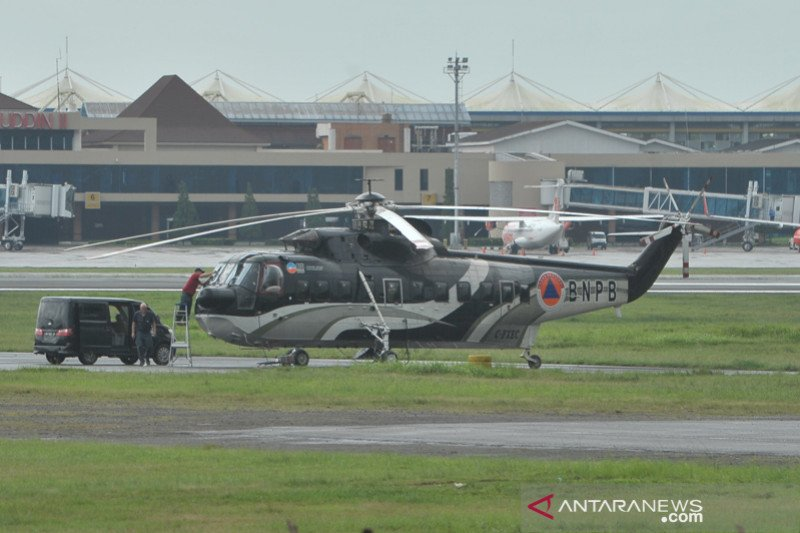 Helikopter patroli dan waterbombing perkuat penanganan Karhutla Sumsel