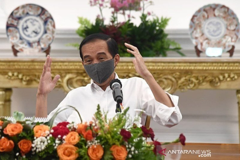 "Jokowi instructs to conduct ""wear face mask"" campaign extensively"
