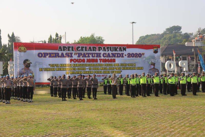20.872 pengendara ditilang selama Operasi Patuh Candi 2020 di Jateng