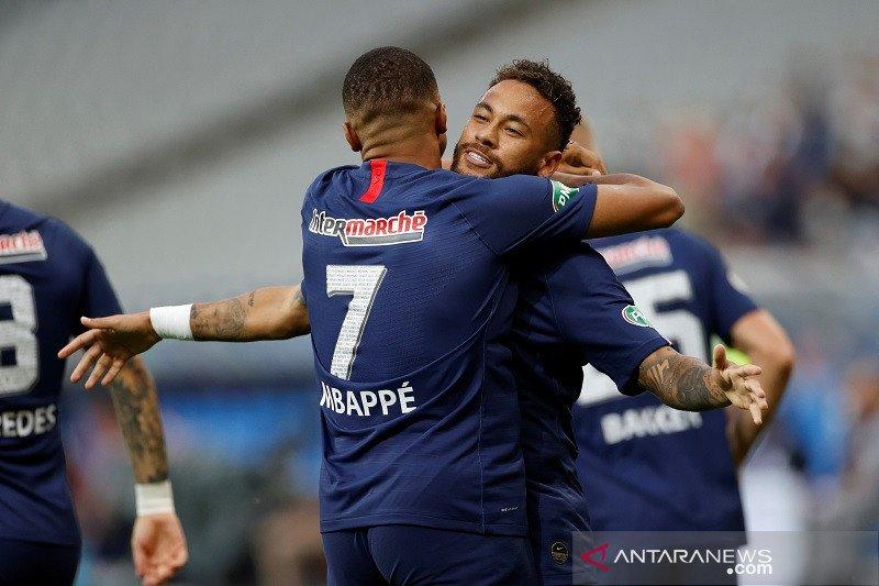 Gol tunggal Neymar membawa PSG juarai Piala Prancis