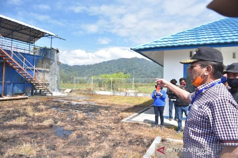 Gubernur apresiasi pengerjaan proyek swakelola sungai di Lore