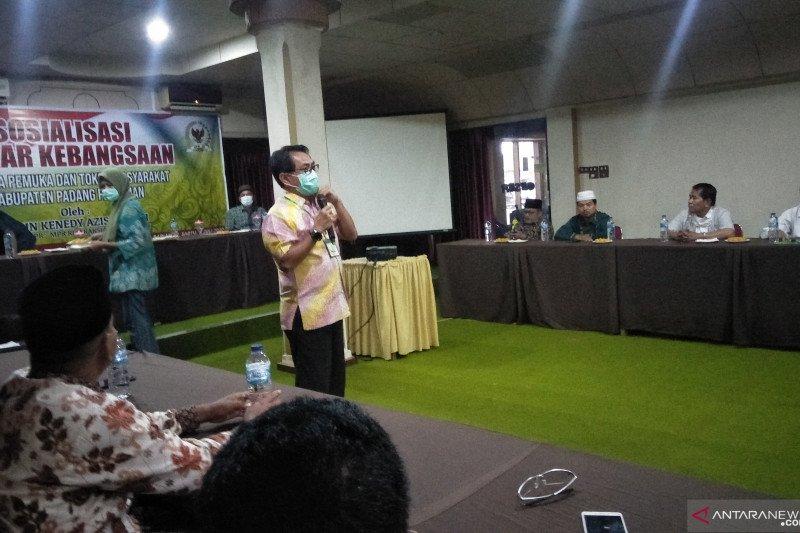 Warga Padang Pariaman antusias tanyakan RUU HIP saat legislator sosialisasikan empat pilar MPR