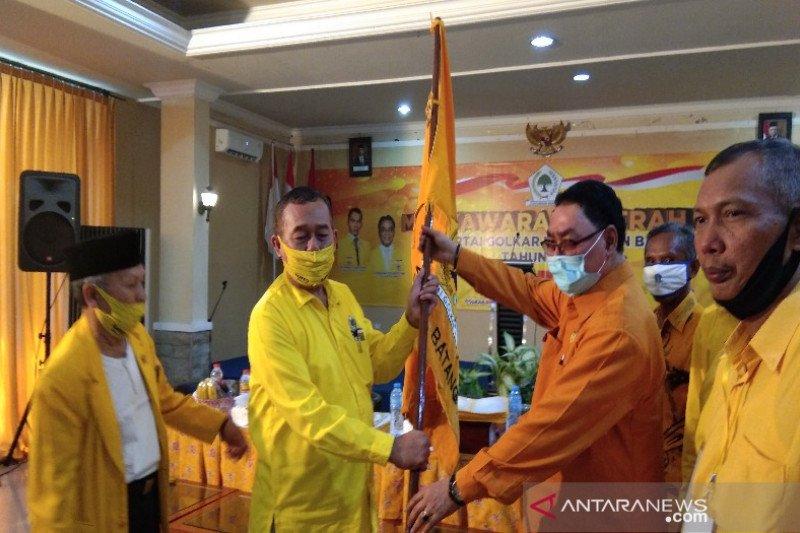 Nur Untung  terpilih menjadi Ketua DPD Golkar Batang