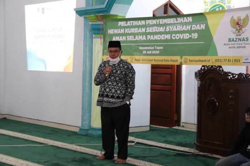 Baznas Depok dan IPB gelar pelatihan penyembelihan hewan kurban sesuai syariah