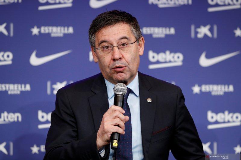 Presiden Barcelona buka suara tentang  rumor Neymar, Martinez dan Messi
