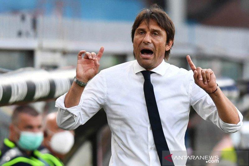 Conte menegaskan komitmen lanjutkan proyek tiga tahunnya di Inter