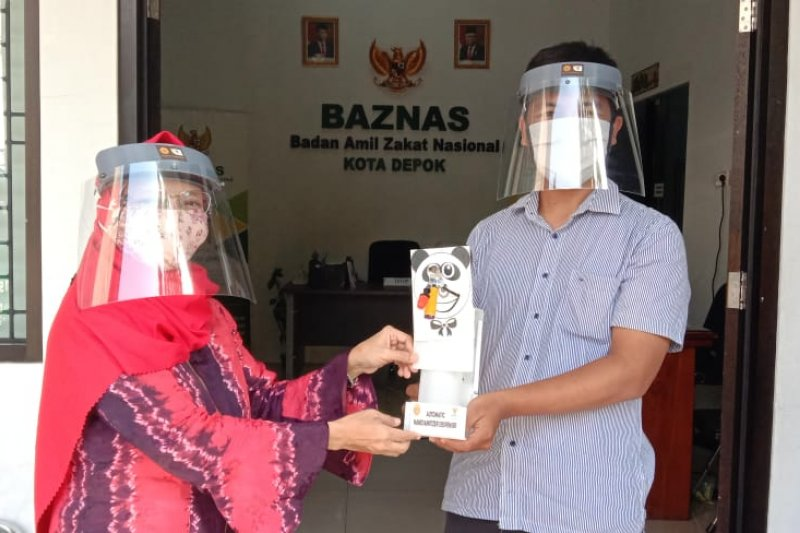 Baznas Depok dan Universitas Jayabaya berikan solusi cegah corona
