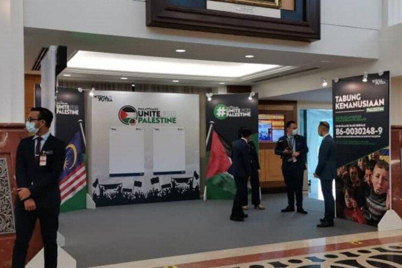 Parlemen Malaysia hadiri kampanye dukung Palestina