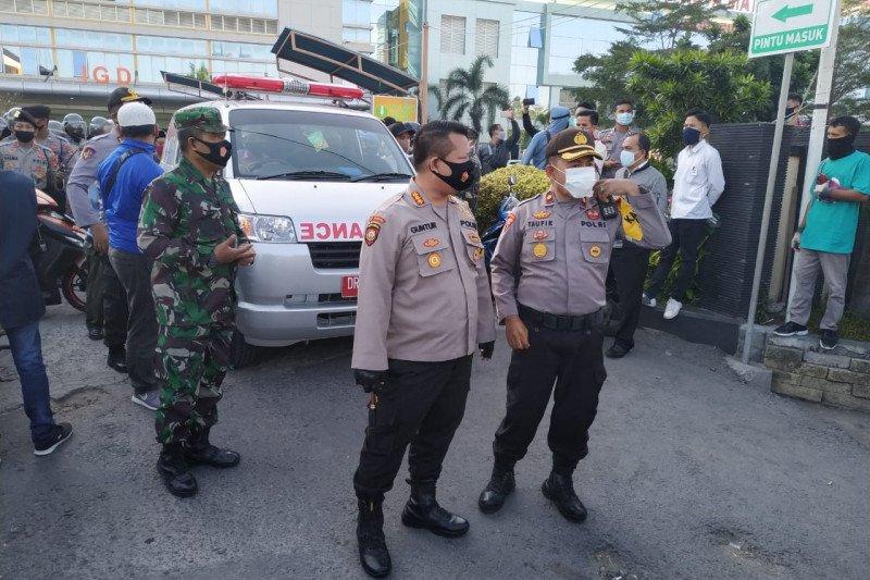 Polresta Mataram gagalkan pengambilan paksa jenazah COVID-19