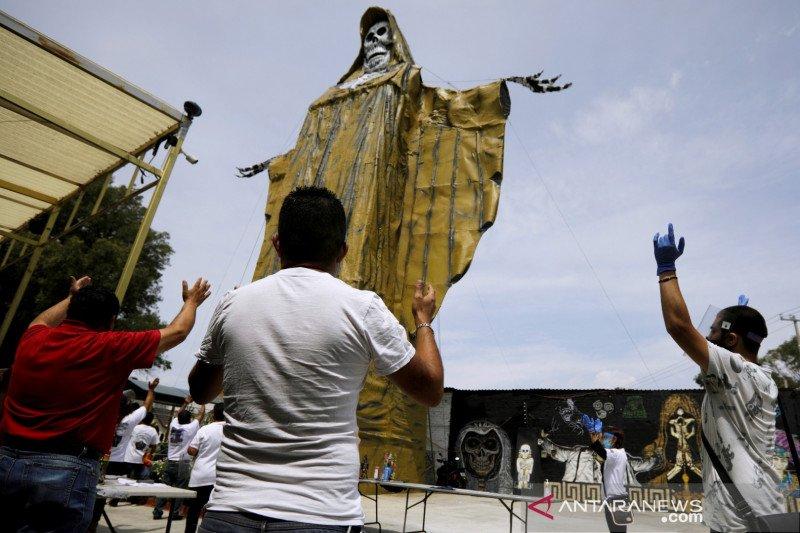 Meksiko catat lebih 9.000 kasus baru corona untuk pertama kalinya