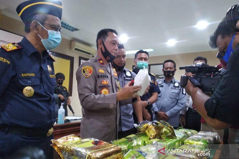 Polda dan Bea Cukai Aceh gagalkan penyeludupan 33 kilogram sabu