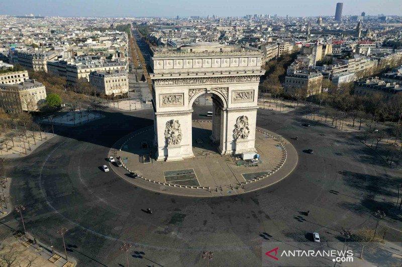 Prancis melaporkan 3.376 kasus baru COVID-19  dalam tiga hari terakhir