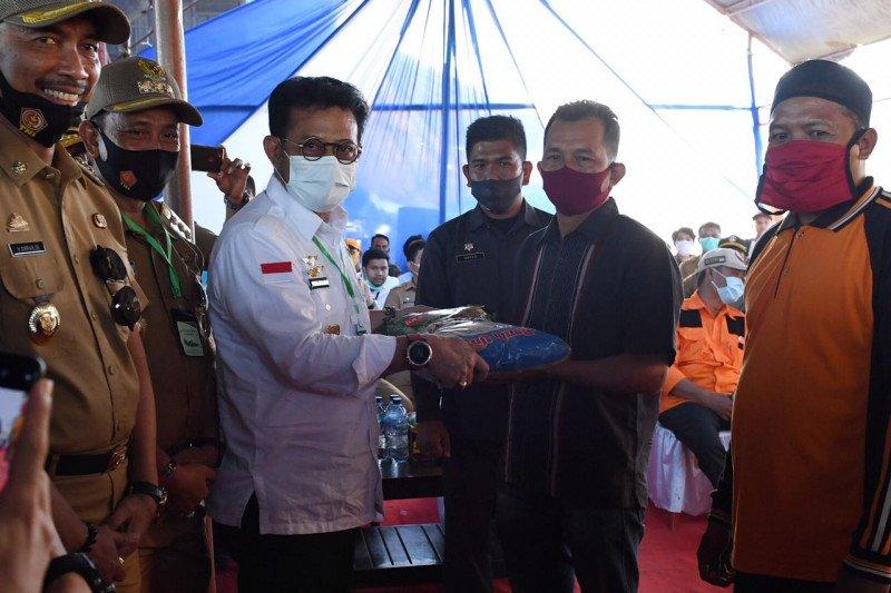 Mentan beri bantuan pertanian Rp35,7 miliar di Kabupaten Wajo