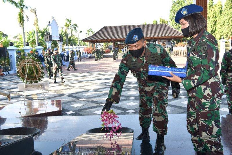 TNI AU ziarah di Monumen Perjuangan TNI AU Ngoto