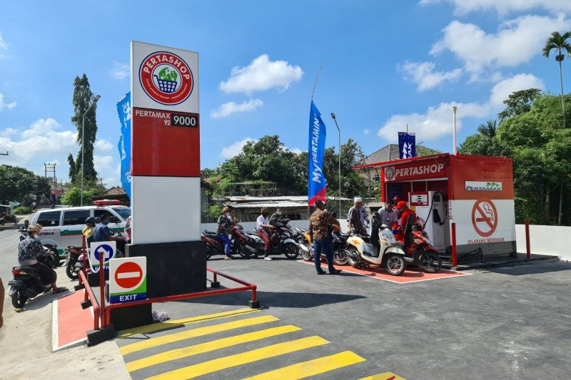 """Pertamina bentuk 10 """"Pertashop"""" bahan bakar di Lombok"""