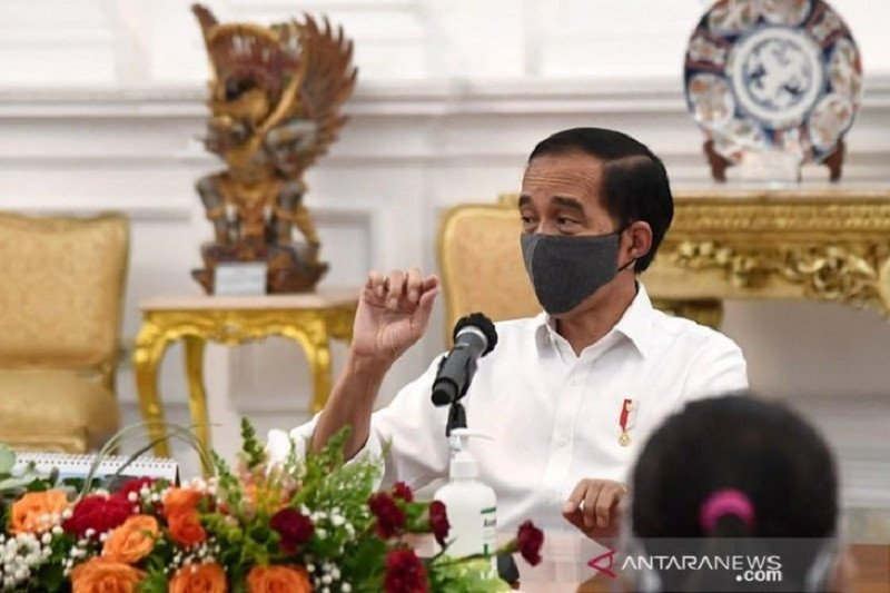 Jokowi instructs to conduct wear face mask campaign extensively