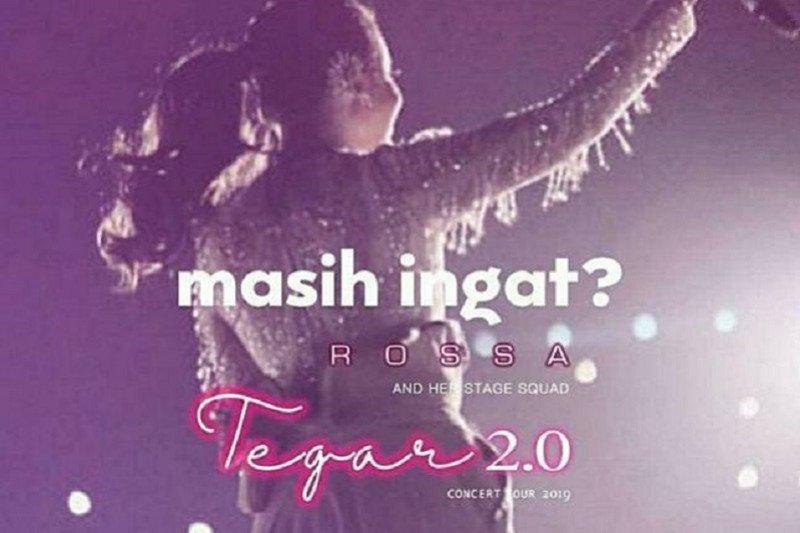 Rossa akan tayangkan konser 'Tegar 2.0' Bandung secara 'online'