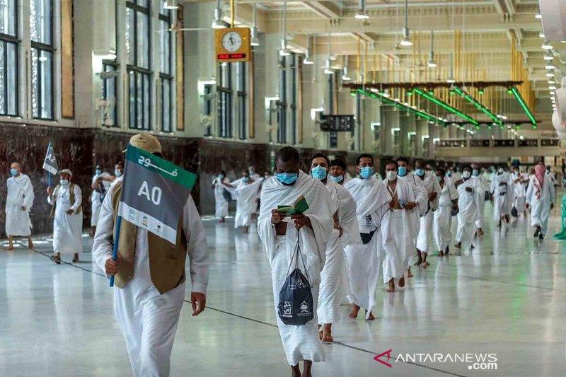 Kemenkes Arab Saudi : Tidak ada kasus COVID-19 di antara jamaah haji