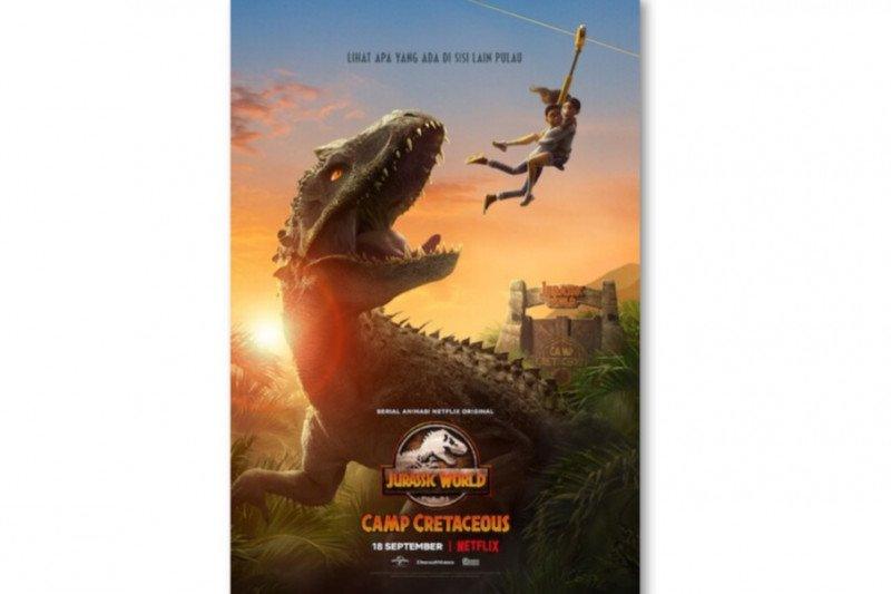 "Serial ""Jurassic World Camp Cretaceous"" tayang pada 18 September"