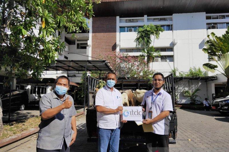 ITDC menyalurkan 26 hewan kurban untuk masyarakat NTB