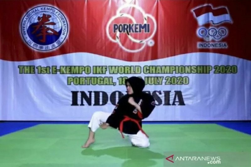 Atlet Indonesia raih prestasi di kejuaraan dunia kempo virtual