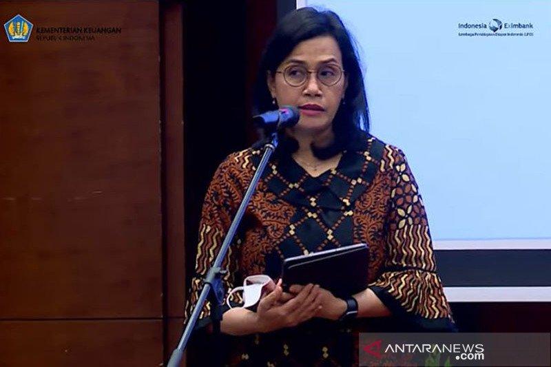 Sri Mulyani: realisasi program PEN Rp151,25 triliun