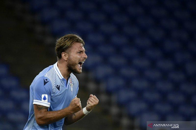 Lazio kembali ke jalur kemenangan setelah tundukkan Crotone skor 2-0